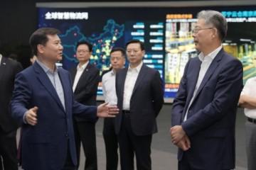 光大集团董事长李晓鹏818期间造访苏宁 深化场景合作促消费
