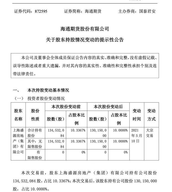 放弃境外业务海通期货拟注销香港全资子公司